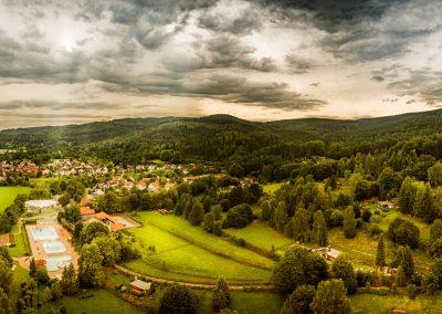 Panorama vom Stachelsrain in Zella-Mehlis