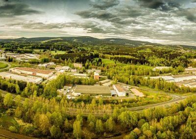 Panorama Industriegebiet Zella-Mehlis